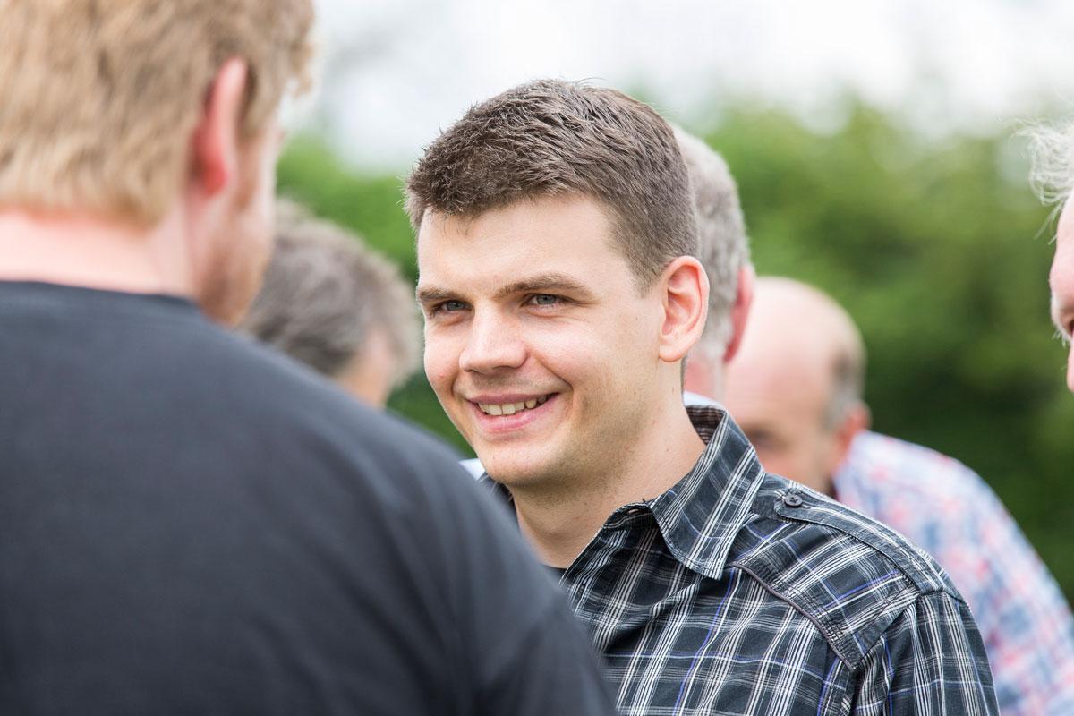 Geschäftsführer Janosch Raymann