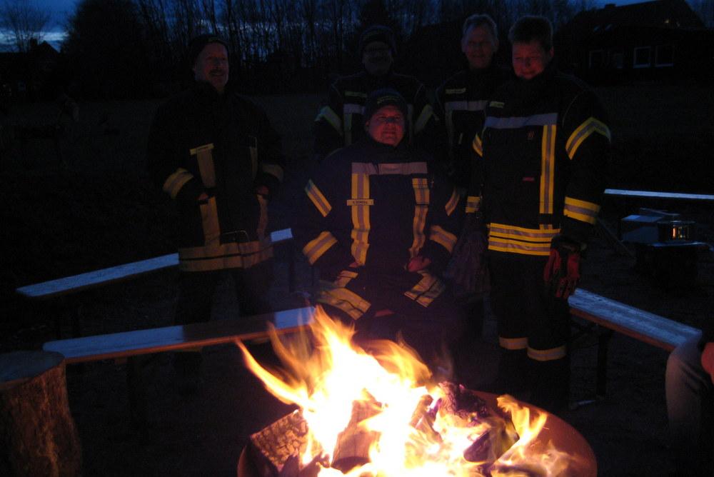Mitglieder der Freiwilligen Feuerwehr Mühlenrade sorgten für Sicherheit - herzlichen Dank für euren Einsatz!